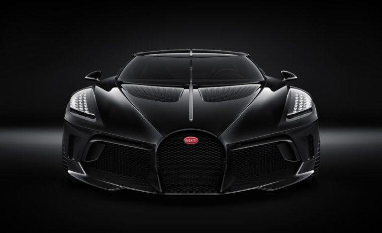 The $12.5 Million Bugatti La Voiture Noire Is the World's Most Expensive New Car